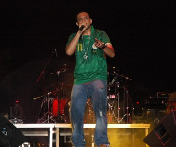 Sean Paul performs in Senegal