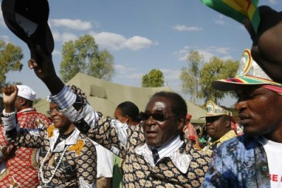 President Robert Mugabe: Political observers say that the arrests of the mining officials could be a result of conflict within the ruling party.