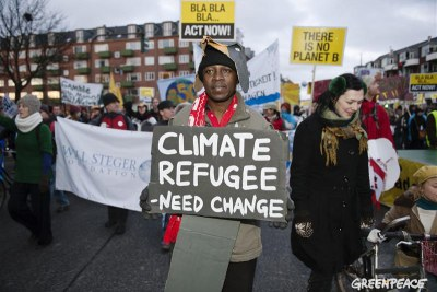 Protesters at the Global Day of Action in Copenhagen (file photo).