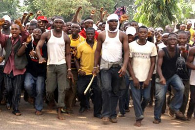 Members of the Movement for the Emancipation of Niger Delta (file photo)