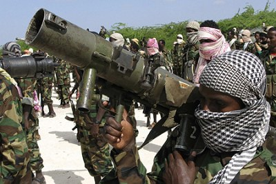Members of Al Shabaab (file photo).