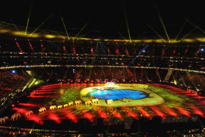 2010 FIFA World Cup Closing Ceremony (file photo).