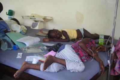 Cholera patients in Bauchi, northern Nigeria (file photo).