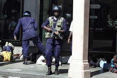 Zimbabwean police. (file photo)
