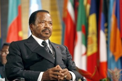 President Paul Biya of Cameroon