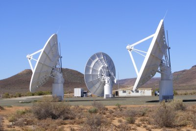 The Karoo Array Telescope, or MeerKAT, is a demonstrator radio telescope which is already being built.