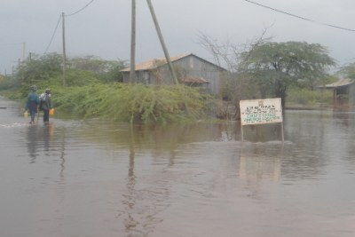Heavy downpour and Floods wreak havoc in Kenya (file photo)