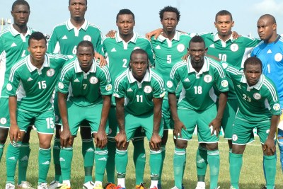 The Super Eagles, Nigeria national soccer team.