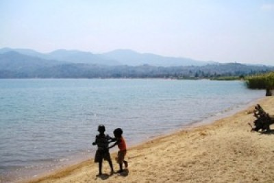 Lake Nyasa, called Lake Malawi by that country.