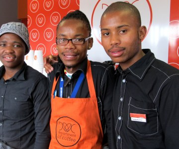 South Africa's Township Entrepreneurs Wake up and Smell the Coffee