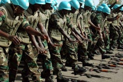Nigeria's peacekeeping army