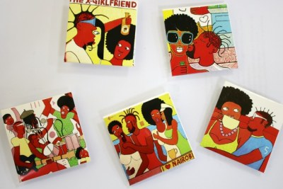 Michael Soi's artwork to be used as condom covers to promote safe sex among the youth.
