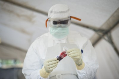 Ebola infections can only be diagnosed definitively in a laboratory using five different tests.