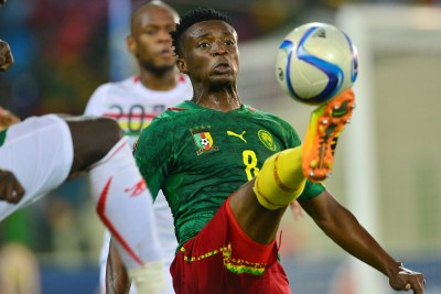 Cameroon's goal-scorer Benjamin Moukandjo has been handed the captain's armband for Afcon 2017.