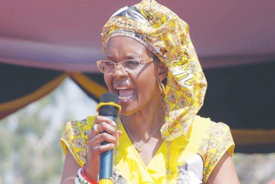 First Lady Grace Mugabe.
