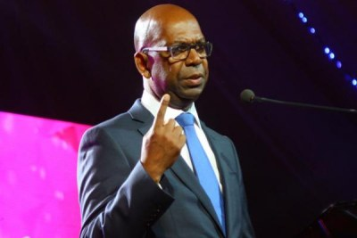 Safaricom chief executive Bob Collymore.