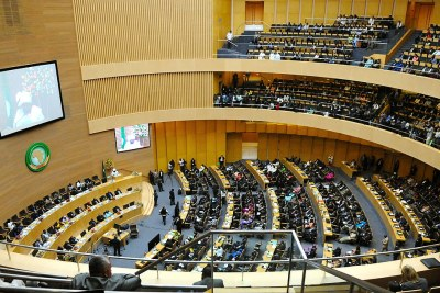 African Union Summit in Addis Ababa (file photo).