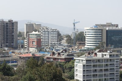 Construction and light rail transport in Addis Ababa are signs of the fast growth of Ethiopia's economy.