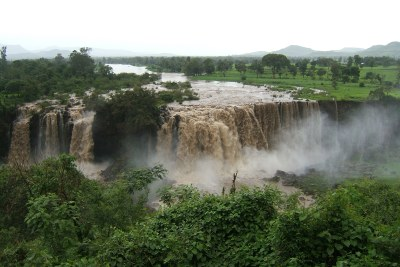 The Blue Nile Falls in Ethiopia.