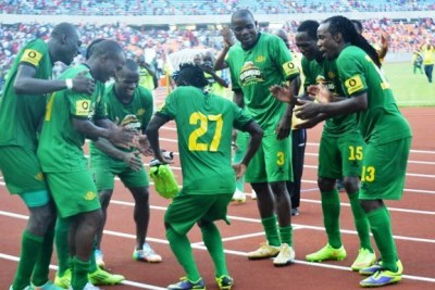 Yanga Sports club players.