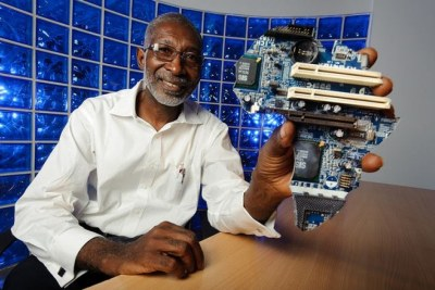 Prof. Nii Narku Quaynor, dubbed 'the father of the Internet in Africa' (file photo).