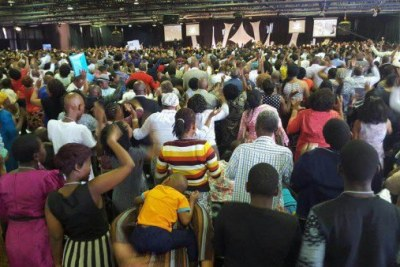 Shepherd Bushiri's church (file photo).