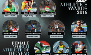 Vote for Africa's Stars in Athlete of the Year Awards!