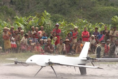 Drones, initially developed for warfare, are being co-opted to provide revolutionary off-grid health-care to those who live in the most remote parts of the world.