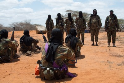 Senior Al-Shabaab members visit fighters