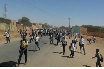 Sudan go on strike to protest recent govt's austerity measures.
