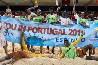 CAN Beach Soccer : Le Sénégal champion d'Afrique