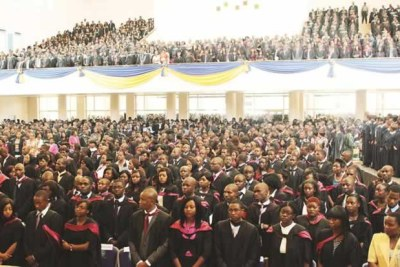 A graduation ceremony at National University of Sciences and Technology in Bulawayo (file photo).