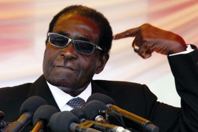 Zimbabwe President Robert Mugabe (file photo).