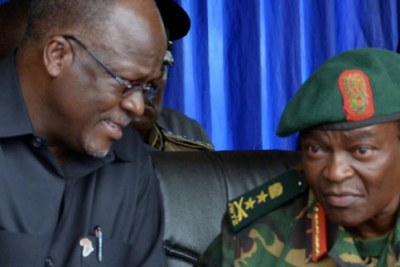 President John Magufuli (file photo).