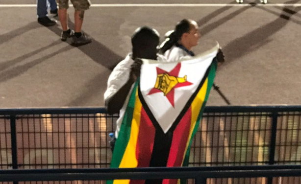 Supporter Zimbabwéen