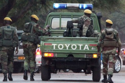 Zimbabwe's Presidential Guard soldiers (file photo).