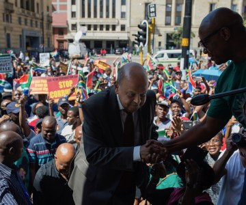 South Africans Take to the Streets in Anti-Zuma Protest
