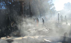 Shack Fire Leaves Hundreds Displaced in Cape Town, South Africa