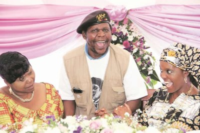 Cde Chinx with Grace Mugabe and Oppah (file photo).
