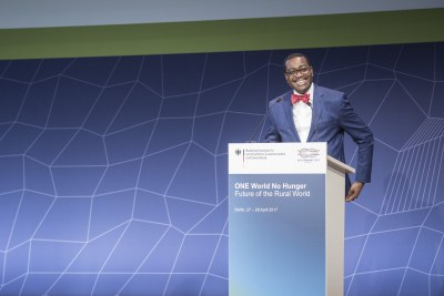 Akinwumi Adesina, President of the African Development Bank.