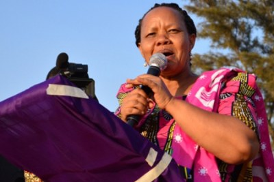 ACT-Wazalendo National Chairperson Anna Mghwira (file photo).