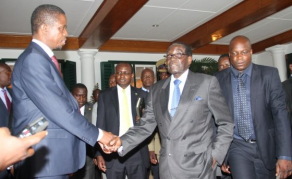 Brace Yourselves Zambians, Lungu's Learning a Lot From Mugabe
