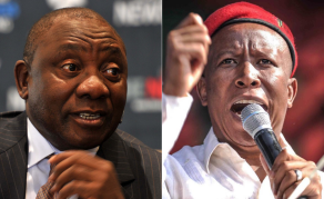 South African Deputy President Panders to White People - Malema