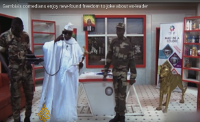 Watch Gambian Comedians Joking About Ex-Leader Jammeh