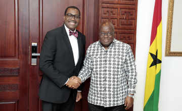 AfDB President Adesina Visits Ghana to Strengthen Cooperation