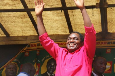 United Party for a New Democracy President Hakainde Hichilema has been freed from prison, and treason charges were dropped.