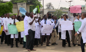 Image result for Adewole directs Hospital heads to fill striking Resident doctors' vacuum