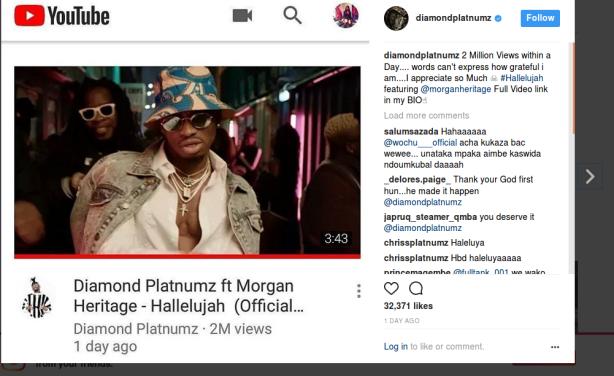 Diamond Platnumz Ft Morgan Heritage: Watch Diamond's Hot Tune Featuring Jamaican Band Morgan
