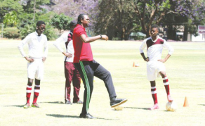 Kanu Visit, Morale Booster For Zimbabwe's Young Footballers