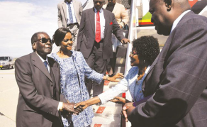 Mugabe Flies Out to Uruguay, Wife Goes to Russia